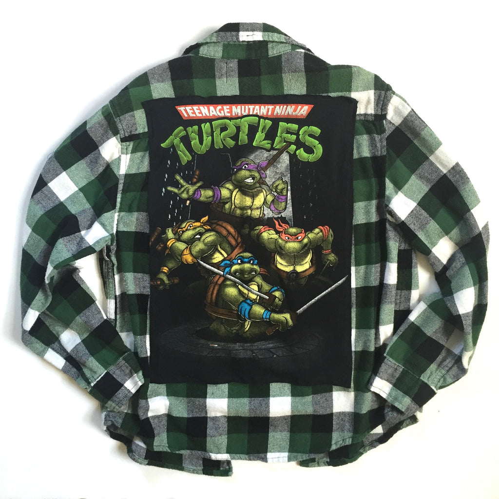 Ninja Turtles Flannel
