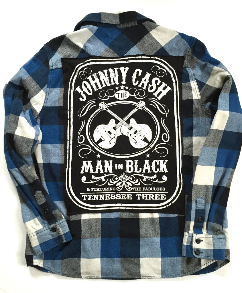 Johnny Cash Flannel