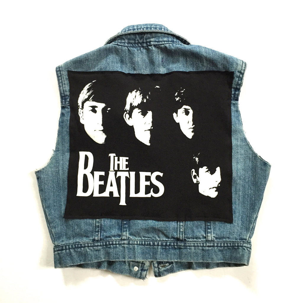 The Beatles Denim Vest