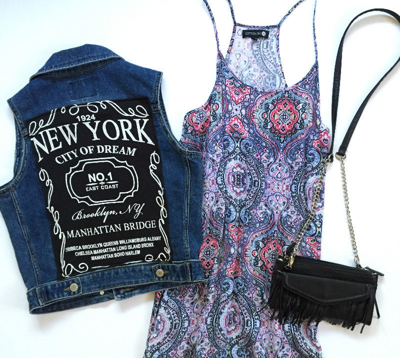 New York Denim Vest