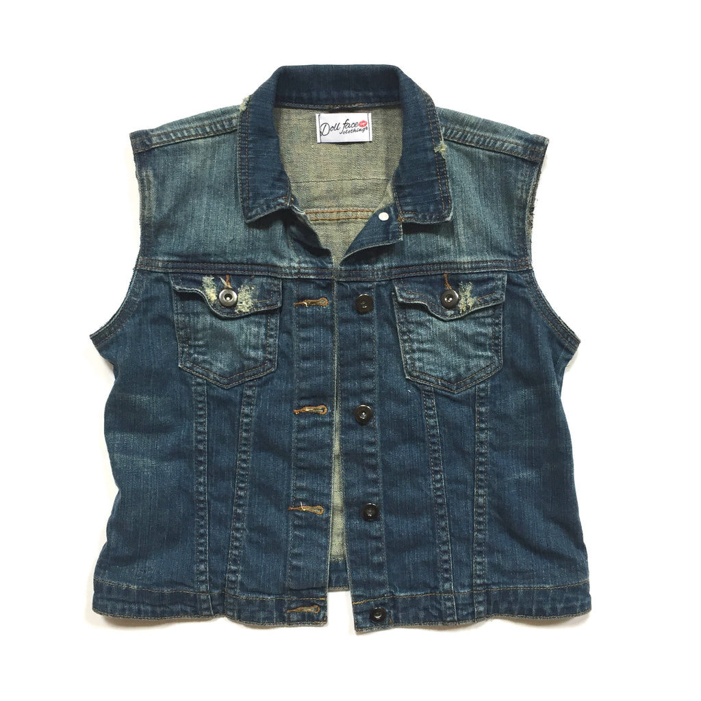 Red Hot Chili Peppers Denim Vest