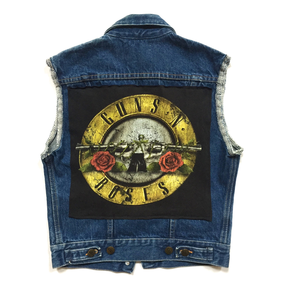 Guns N Roses Denim Vest