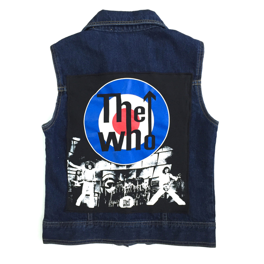 THE WHO Denim Vest
