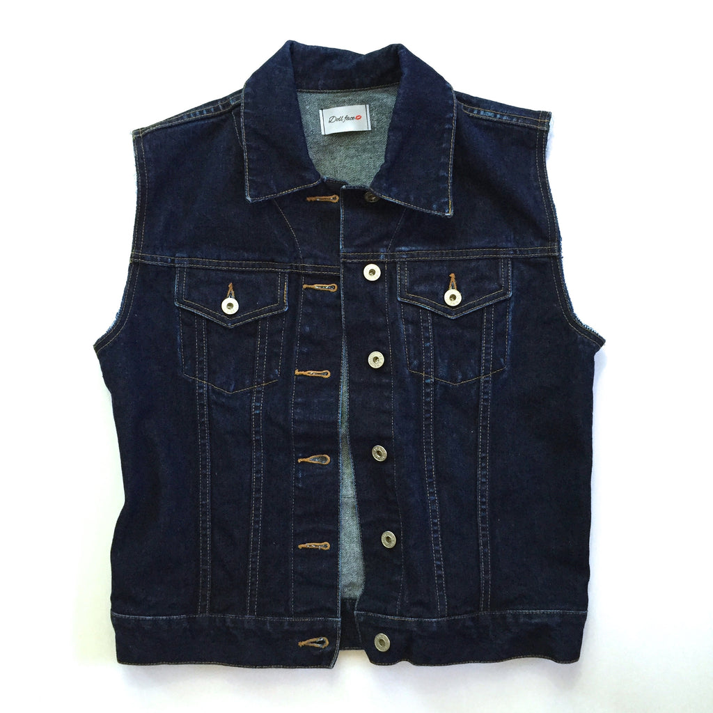QUEEN Denim Vest