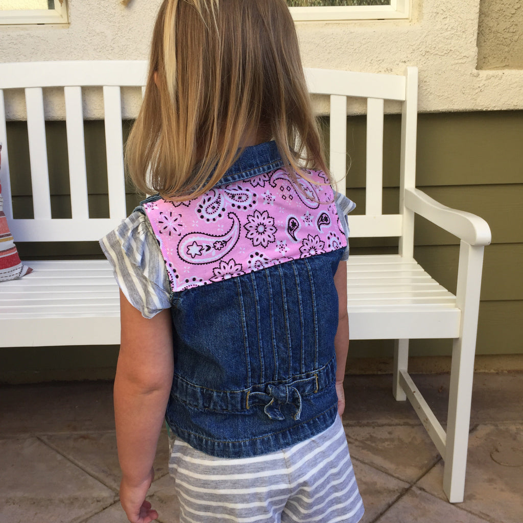 Country Babe Denim Vest