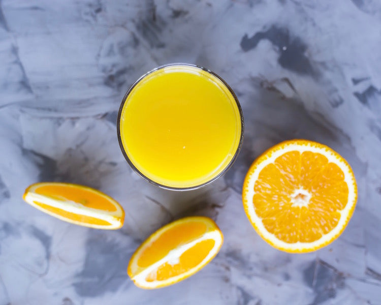 Turmeric & Orange Lemonade