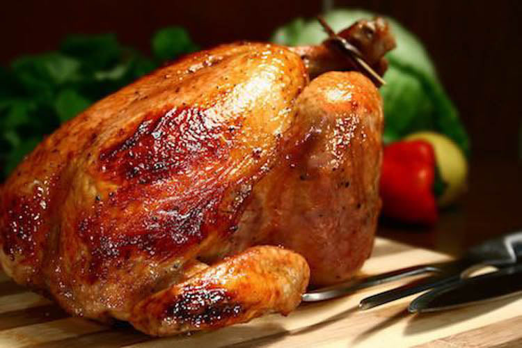Advieh Roasted Chicken