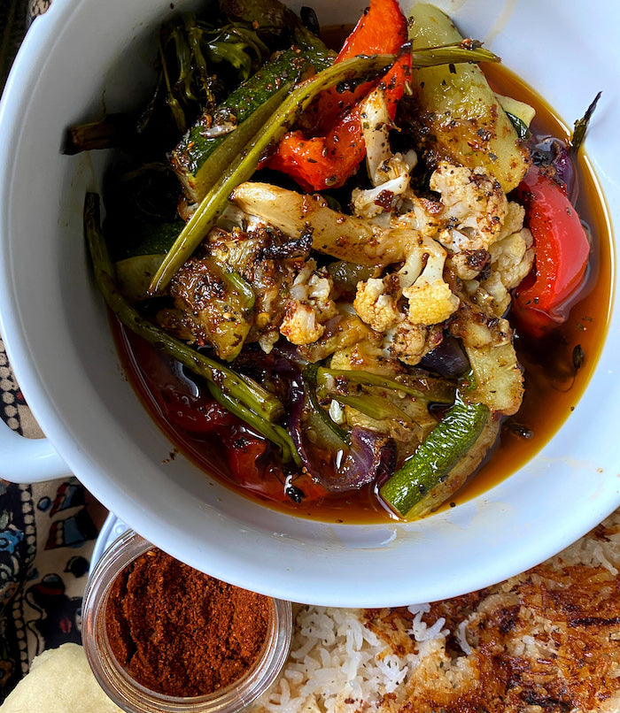 Baharat Roasted Vegetables