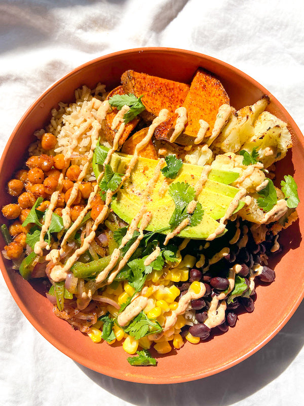 Chipotle Inspired Grain Bowl