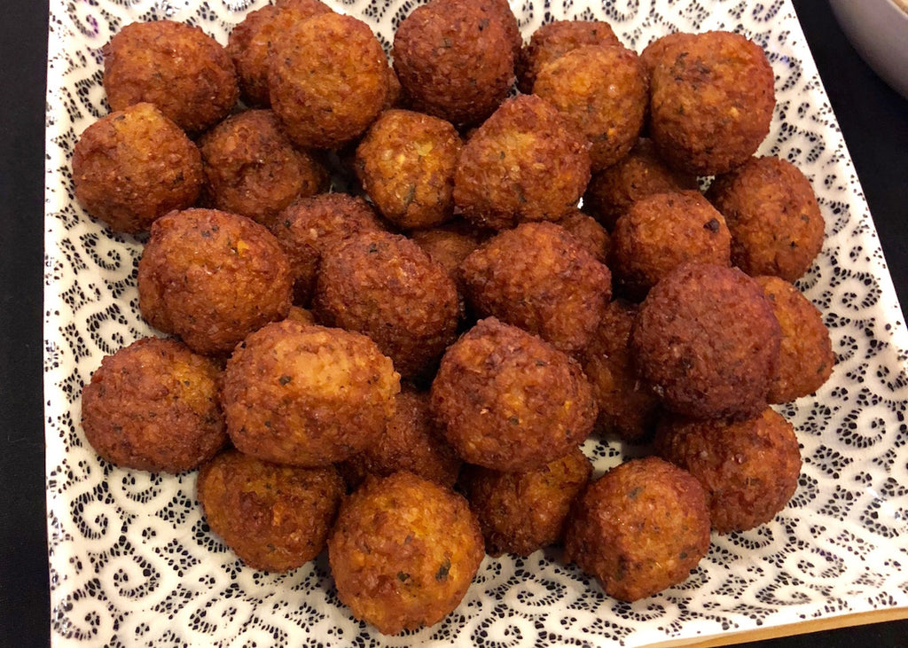 Spiced Falafel