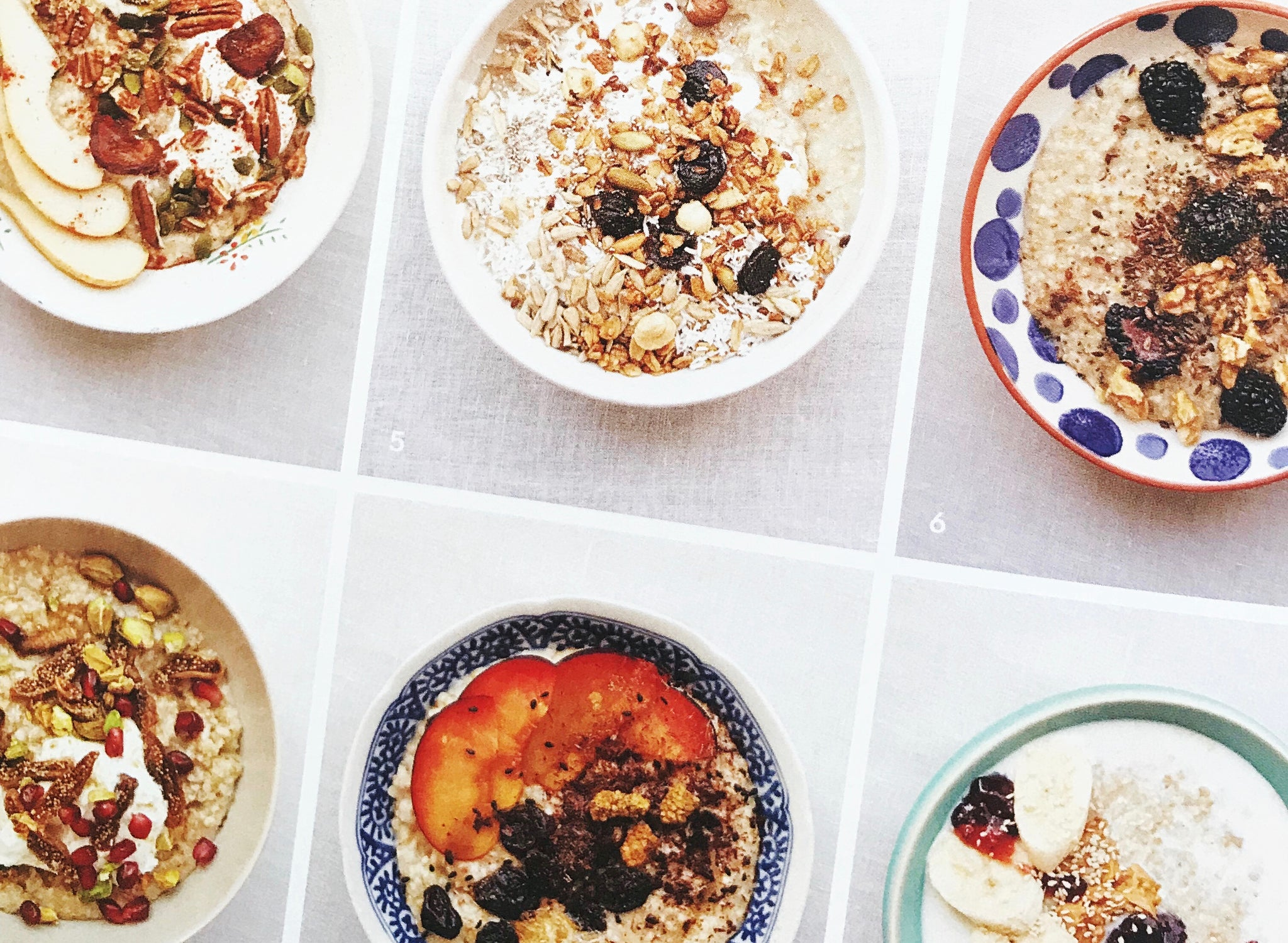 Steel Cut Oats With Toppings // 9 Variations