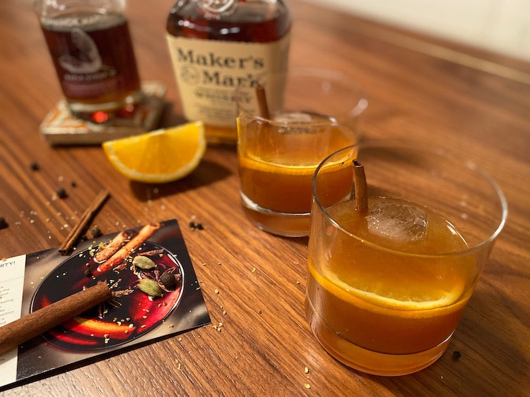 Spiced Whiskey and Cider