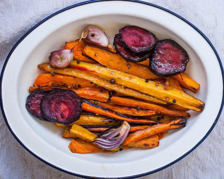 Roasted Vegetables, 5 Ways