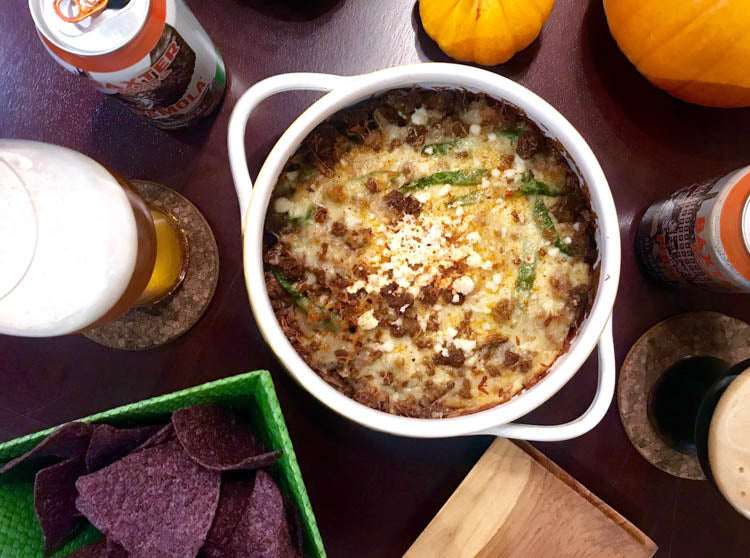 Southwest Queso Fundido