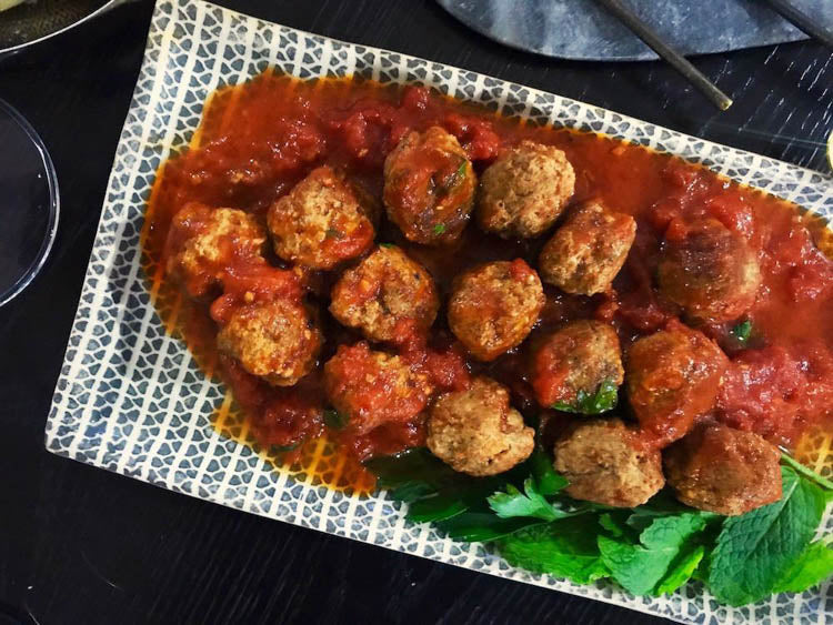 Spiced Lamb and Herb Meatballs