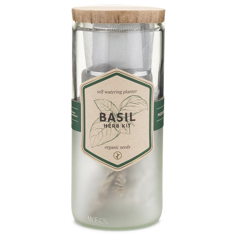 Basil | Self Watering Eco-Planter-Accessories-SKORDO