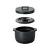 Kakomi Ceramic Rice Cooker - Black-Accessories-SKORDO