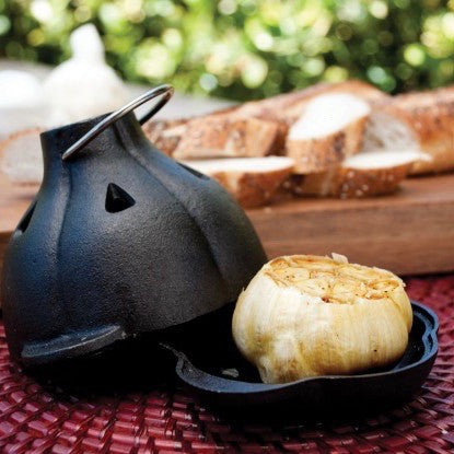 Cast Iron Garlic Roaster-Accessories-SKORDO