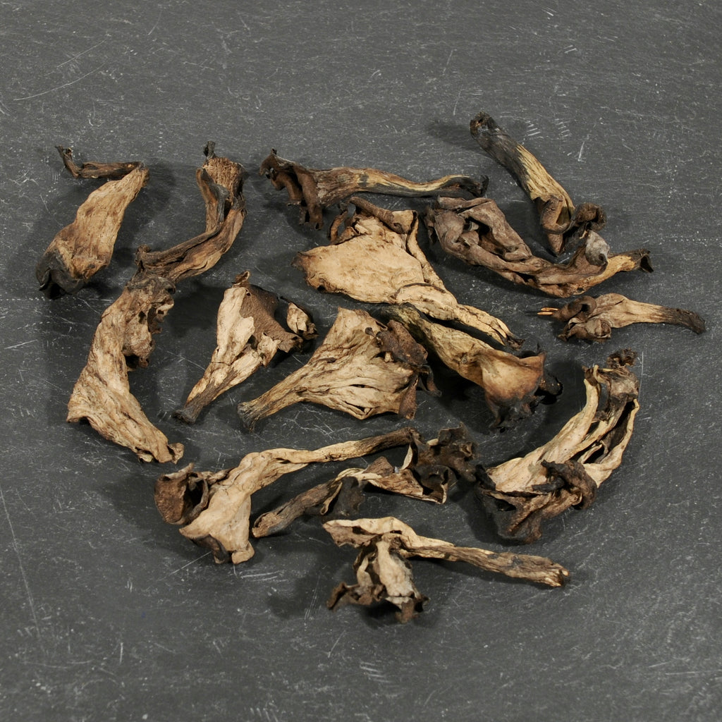 Black Trumpet Mushrooms - Dried-Ingredients-SKORDO