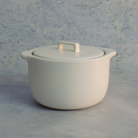 Kakomi Ceramic Rice Cooker - White-Accessories-SKORDO