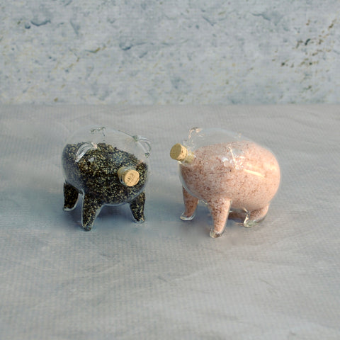 Salt and Pepper Shakers - Pair of Pigs-Accessories-SKORDO