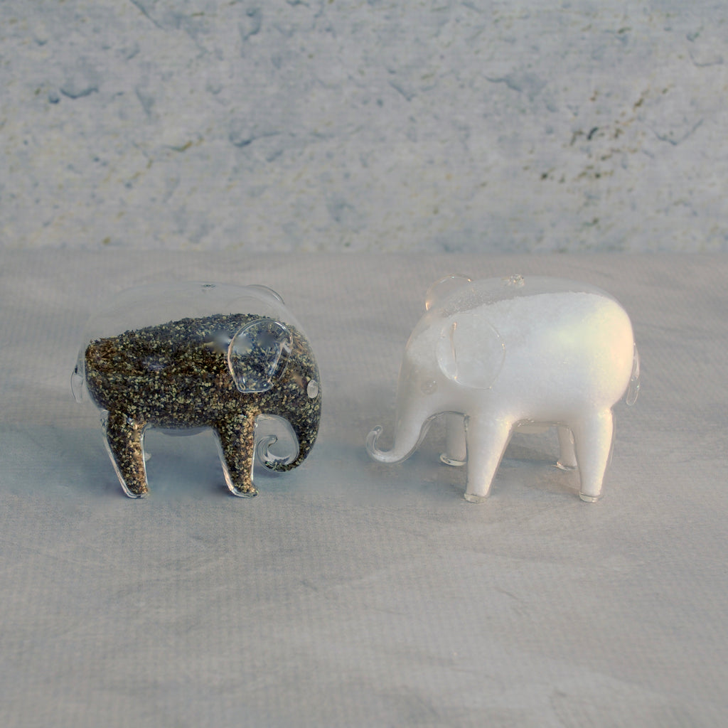 Salt and Pepper Shakers - Pair of Elephants-Accessories-SKORDO