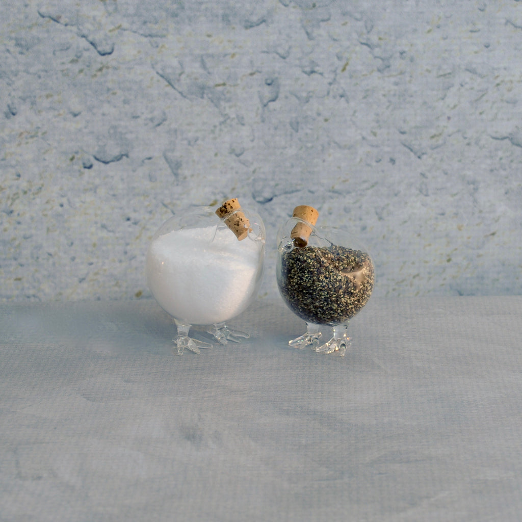 Salt and Pepper Shakers - Pair of Chicks-Accessories-SKORDO