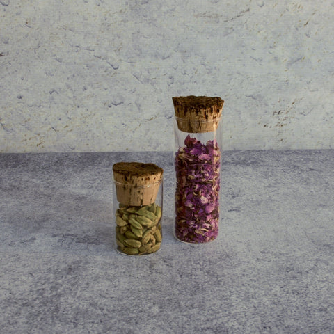 Corked Tall Spice Jar-Accessories-SKORDO