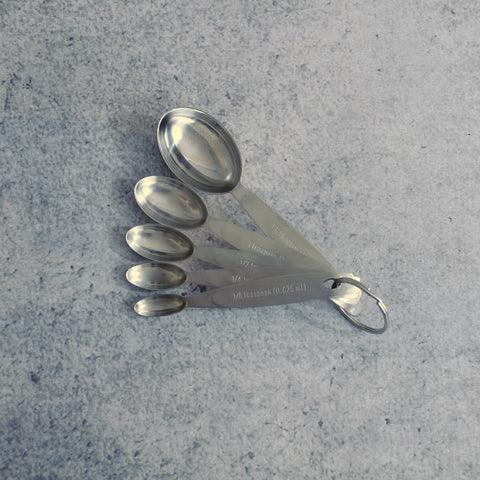 Stainless Steel Measuring Spoons-Accessories-SKORDO