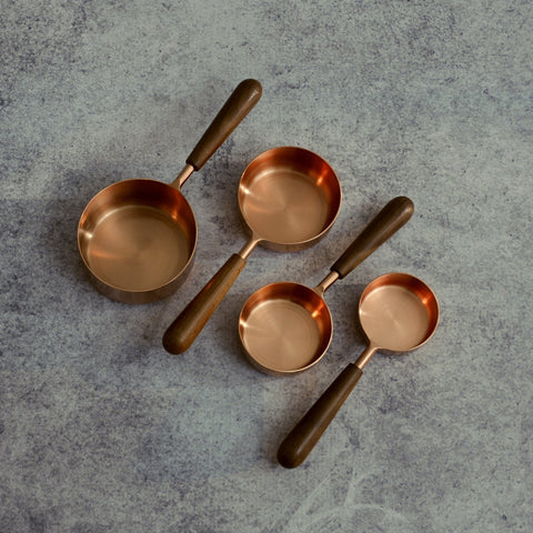 Copper Measuring Cups-Accessories-SKORDO