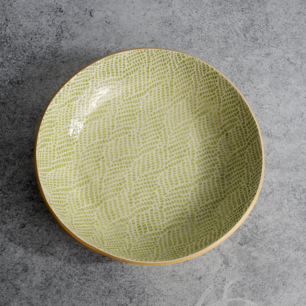 Terrafirma Ceramics - Citrus Braid Bowl-Accessories-SKORDO