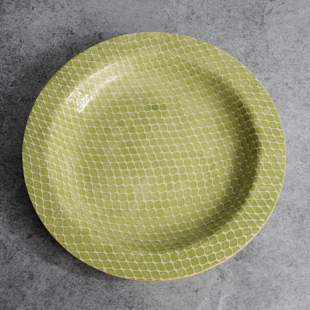 Terrafirma Ceramics - Citrus Taj Low Bowl-Accessories-SKORDO