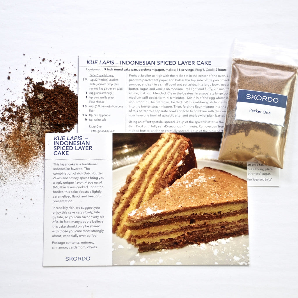 Kue Lapis – Indonesian Spiced Layer Cake Kit-Collections-SKORDO