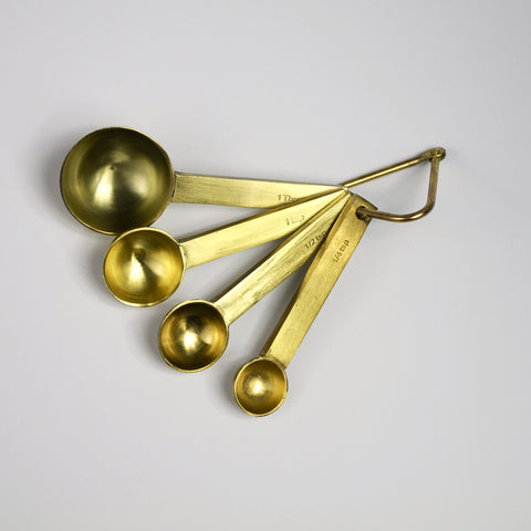Gold Measuring Spoons-Accessories-SKORDO
