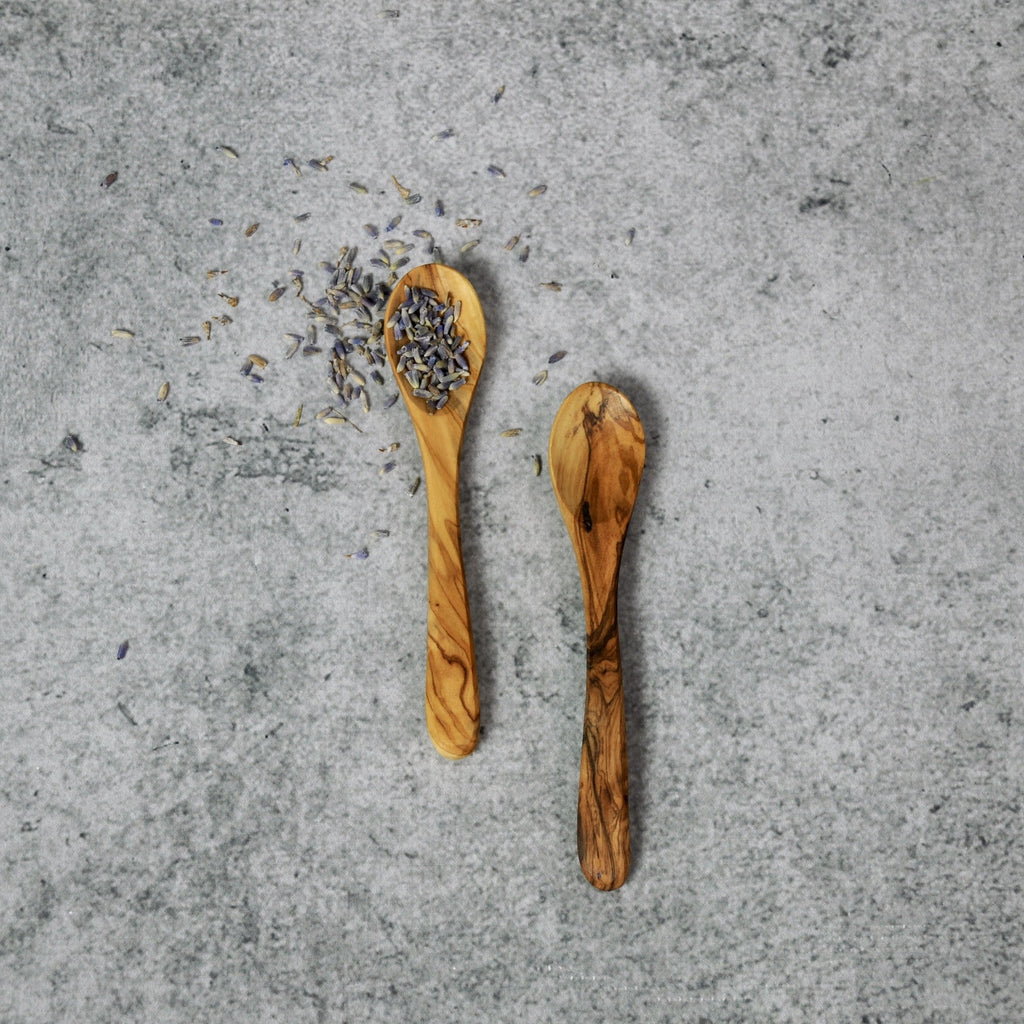 Small Olivewood Serving Spoon-Accessories-SKORDO