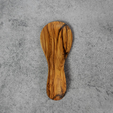 Olive Wood Spoon Rest-Accessories-SKORDO