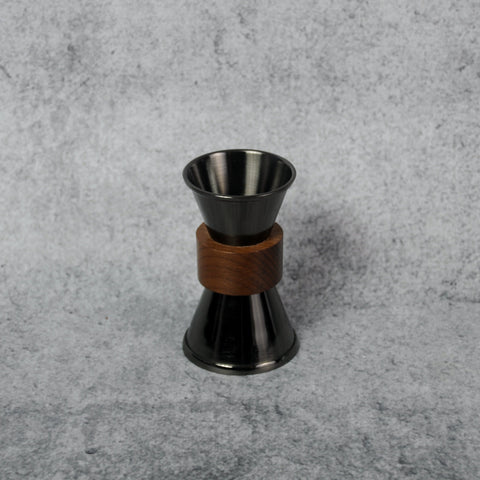 Onyx and Teak Jigger-Accessories-SKORDO