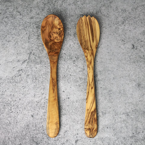 Olivewood Serving Set-Accessories-SKORDO