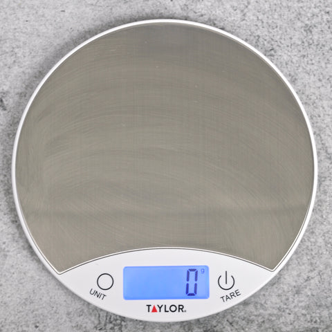 Stainless Steel Round Kitchen Scale