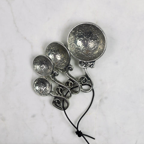 Pewter Vineyard Measuring Spoons