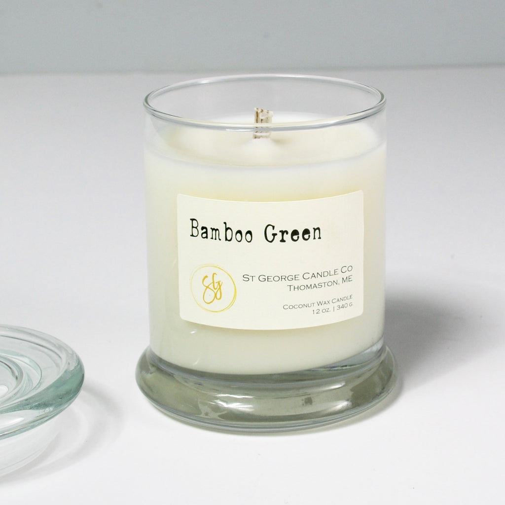 Bamboo Green Coconut Wax Candle