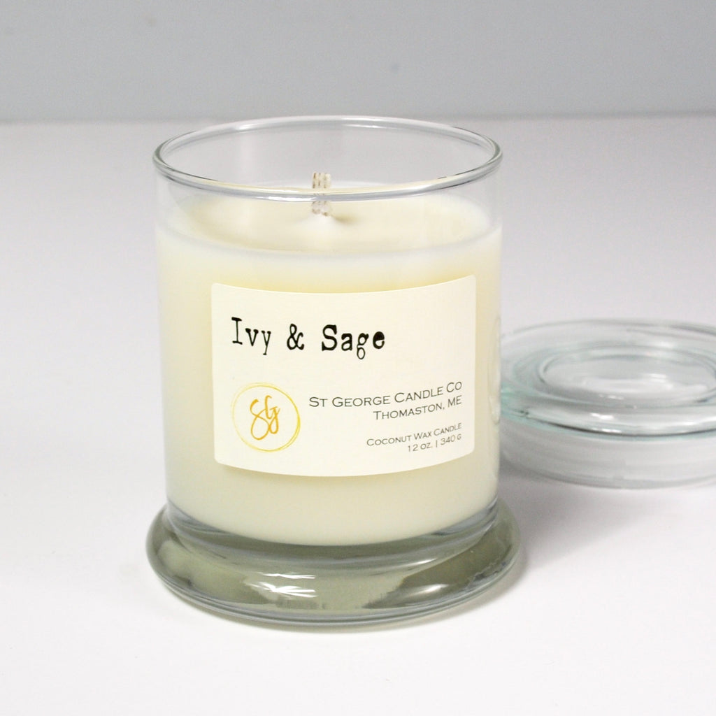 Ivy & Sage Coconut Wax Candle