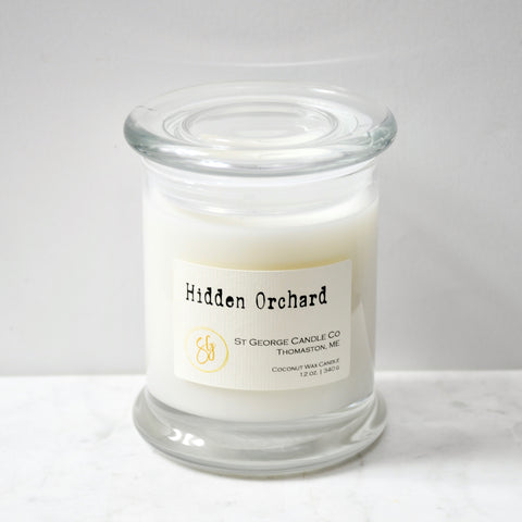 Hidden Orchard Coconut Wax Candle
