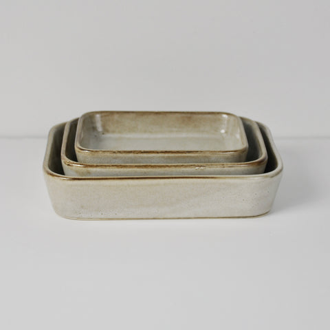 Tapas Reactive Stone Dishes - Set of 3