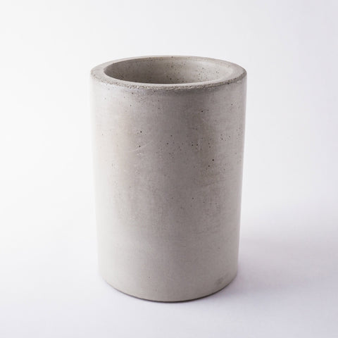 Concrete Wine & Utensil Holder - Gray-Accessories-SKORDO