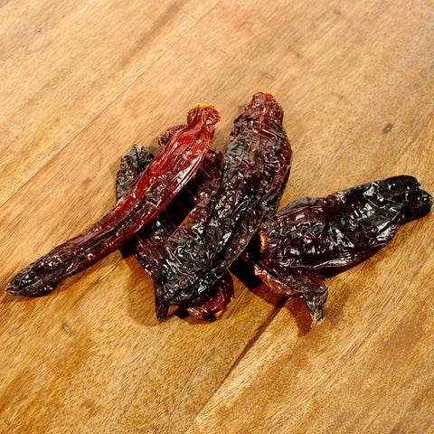 Aji Panca Chile Peppers - Dried-Ingredients-SKORDO
