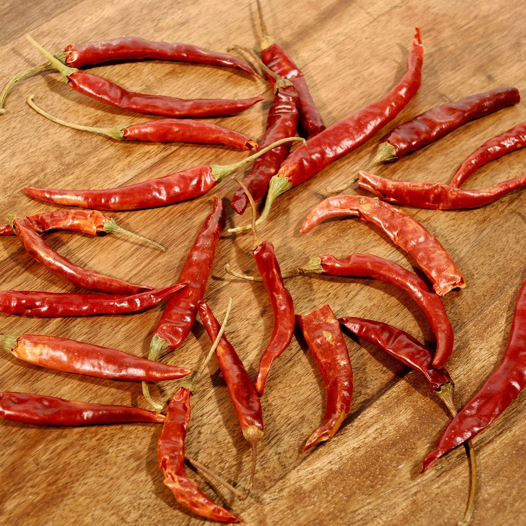DeArbol Chile Peppers - Dried-Ingredients-SKORDO