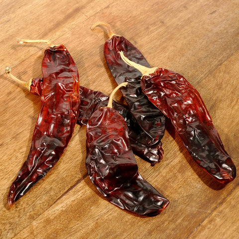 Guajillo Chile Peppers - Dried