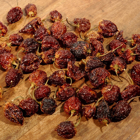 Habanero Chile Peppers - Dried