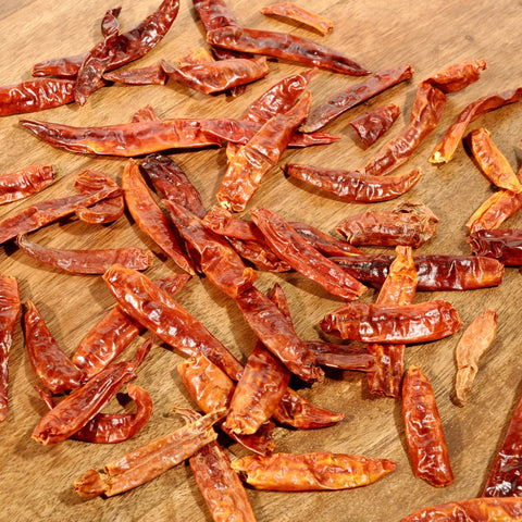 Japones Chile Peppers - Dried